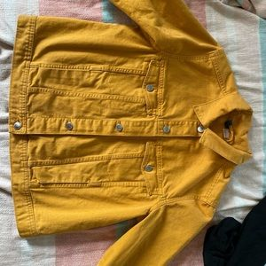 Yellow H&M Denim Jacket